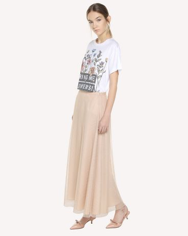REDValentino QR3MG09W40S 0BO T-Shirt Woman d