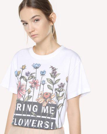 REDValentino QR3MG09W40S 0BO T-Shirt Woman e