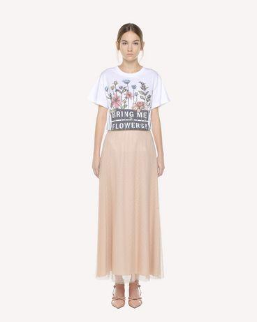 REDValentino QR3MG09W40S 0BO T-Shirt Woman f