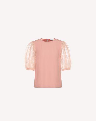 REDValentino QR3AA1050WB R13 Shirt Woman a