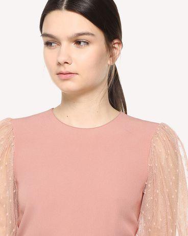 REDValentino QR3AA1050WB R13 Shirt Woman e