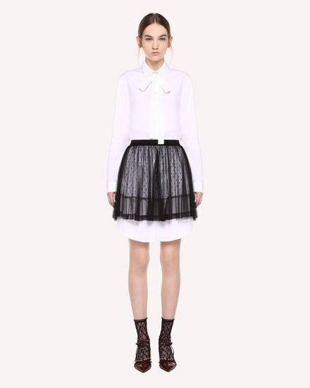 REDValentino Shirt Woman QR3AB1U03SJ 001 f