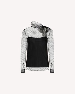REDValentino Jacket Woman QR3NB00R3VA 0NO a