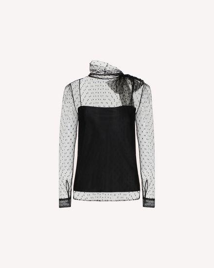 REDValentino Рубашка Для Женщин QR3AB1Y01GK 0NO a