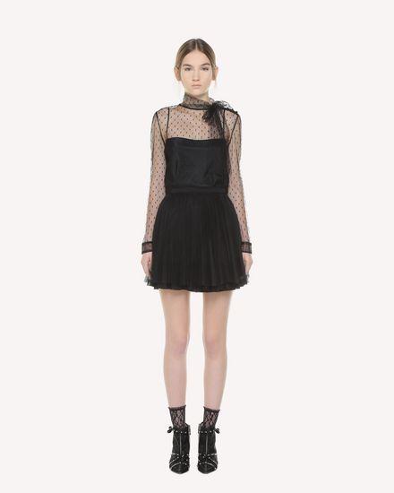 REDValentino Рубашка Для Женщин QR3AB1Y01GK 0NO f