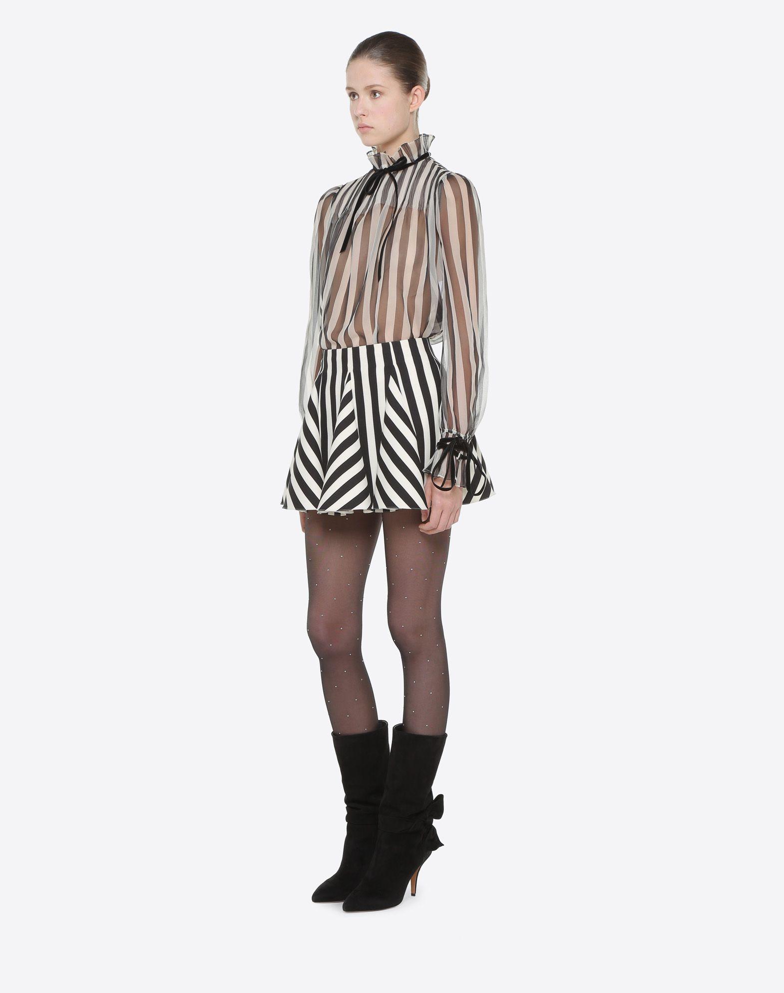 VALENTINO Stripes Re-edition 上衣  上衣 D d