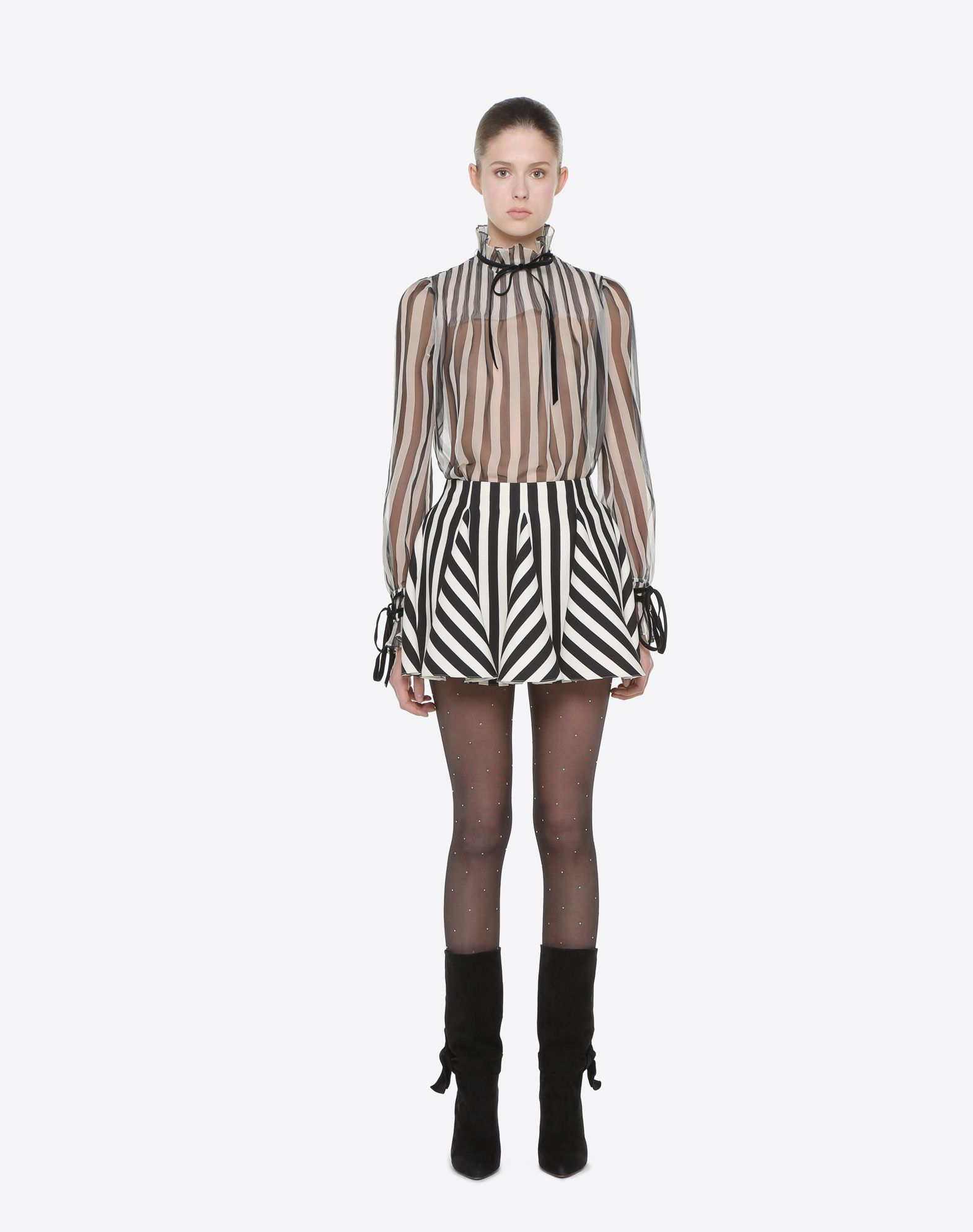 VALENTINO Top Stripes Re-edition  TOP D r