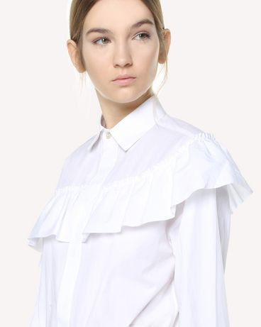 REDValentino QR3AB2003SJ 001 Shirt Woman e