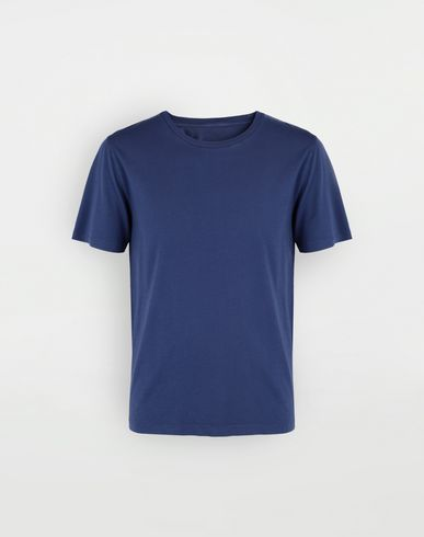 TOPS Cotton T-shirt Blue