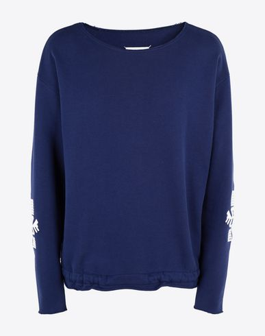 MAISON MARGIELA スウェット メンズ Print sweatshirt f