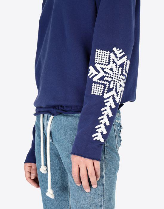 MAISON MARGIELA Print sweatshirt Sweatshirt [*** pickupInStoreShippingNotGuaranteed_info ***] a