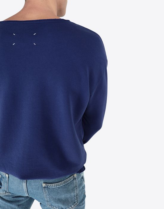 MAISON MARGIELA Print sweatshirt Sweatshirt [*** pickupInStoreShippingNotGuaranteed_info ***] b