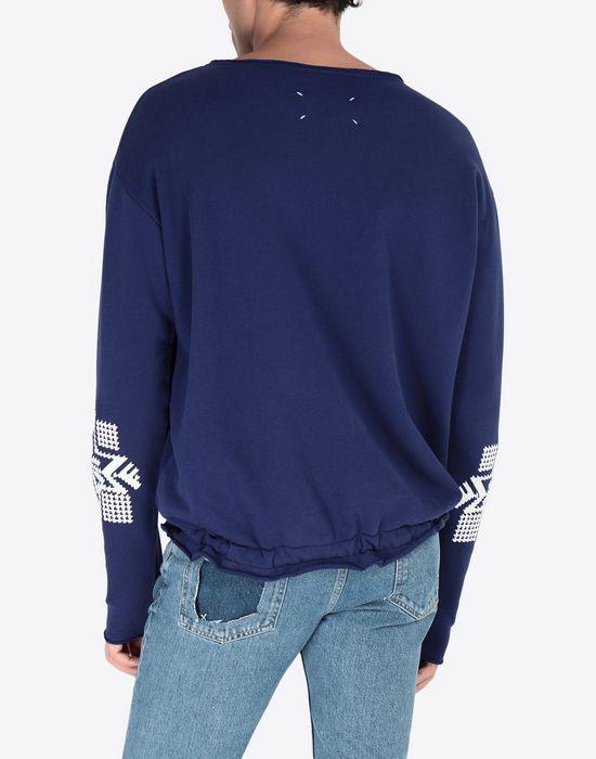 MAISON MARGIELA Print sweatshirt Sweatshirt [*** pickupInStoreShippingNotGuaranteed_info ***] e