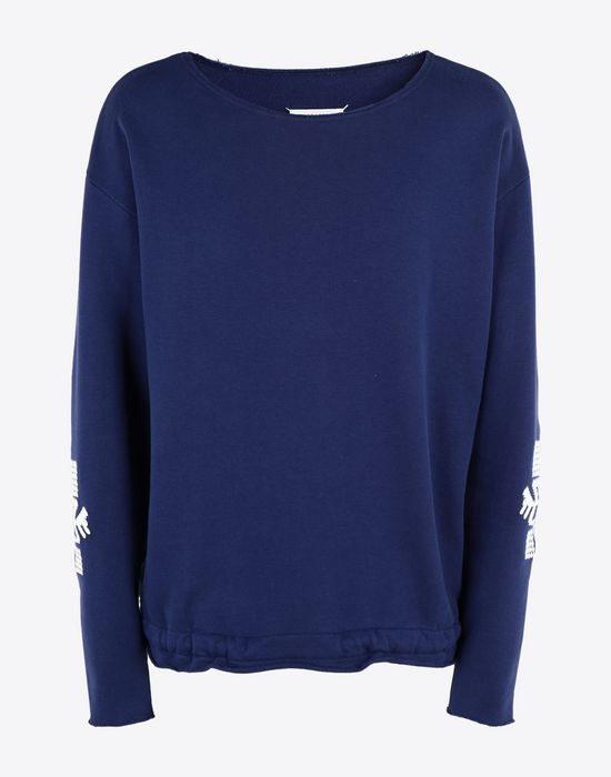MAISON MARGIELA Print sweatshirt Sweatshirt [*** pickupInStoreShippingNotGuaranteed_info ***] f