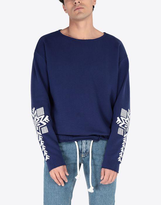MAISON MARGIELA Print sweatshirt Sweatshirt [*** pickupInStoreShippingNotGuaranteed_info ***] r