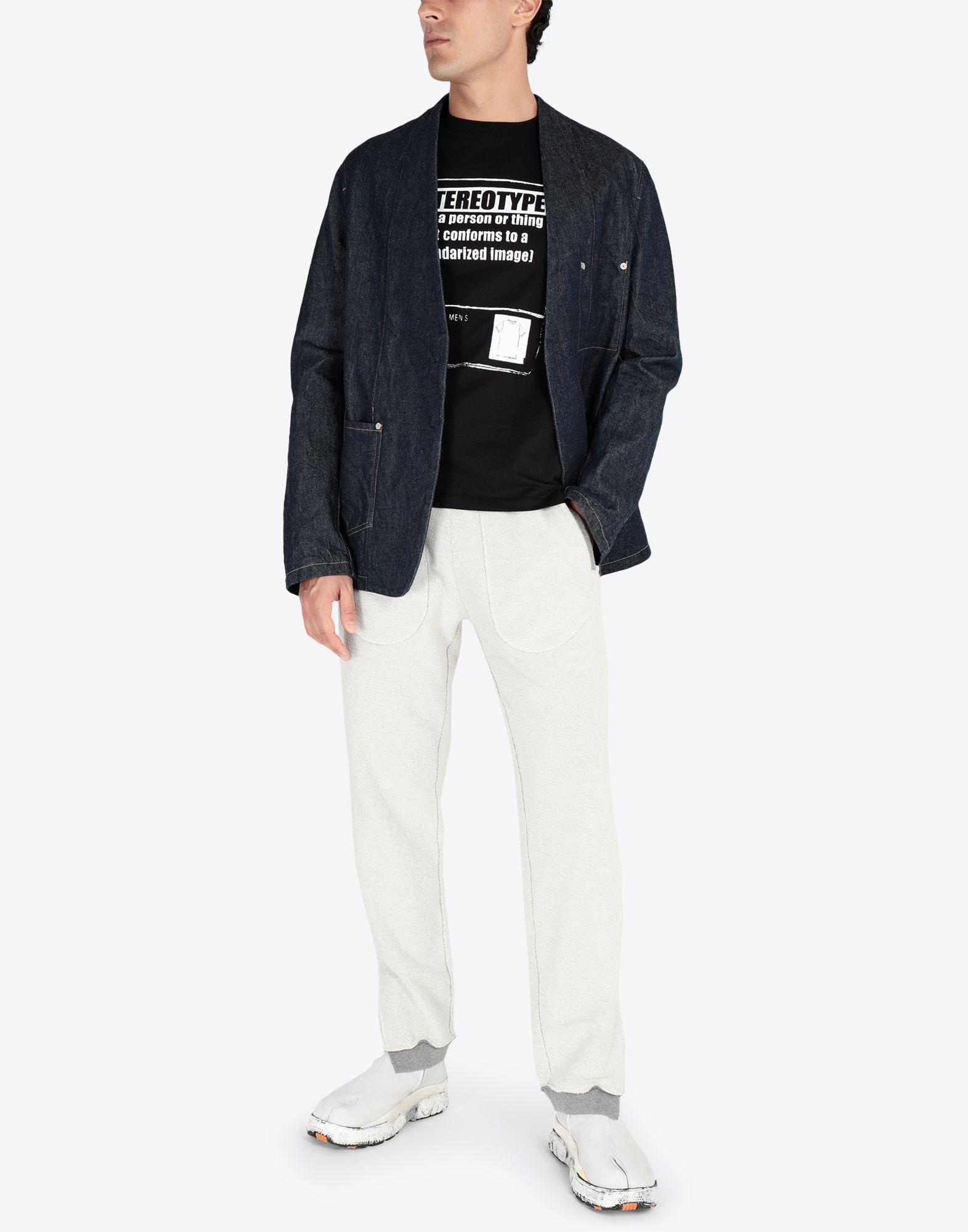 MAISON MARGIELA Stereotype' コットンTシャツ T シャツ メンズ d