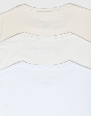 TOPS Pack of 3 'Stereotype' T-shirts Ivory