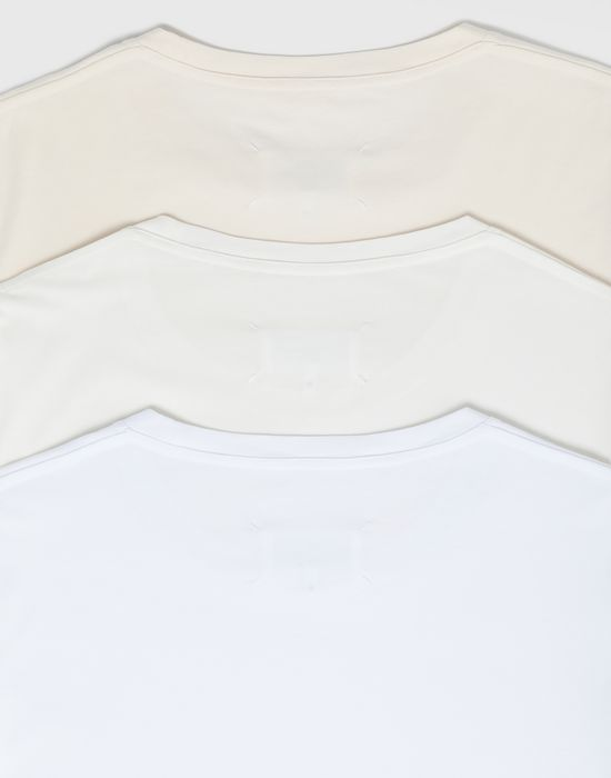 MAISON MARGIELA Pack of 3 'Stereotype' T-shirts Short sleeve t-shirt [*** pickupInStoreShippingNotGuaranteed_info ***] a