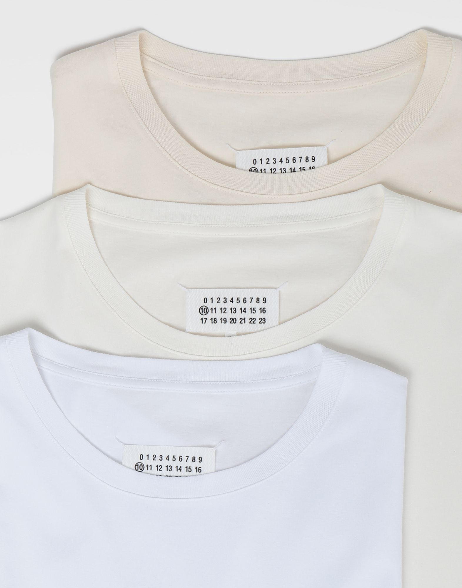 MAISON MARGIELA Pack of 3 'Stereotype' T-shirts Short sleeve t-shirt Man d