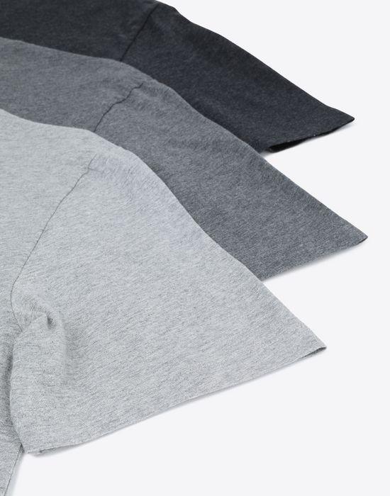 MAISON MARGIELA Pack of 3 'Stereotype' T-shirts Short sleeve t-shirt [*** pickupInStoreShippingNotGuaranteed_info ***] e