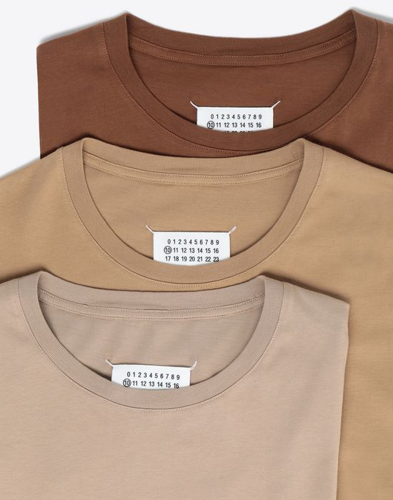 MAISON MARGIELA Pack of 3 'Stereotype' T-shirts Short sleeve t-shirt [*** pickupInStoreShippingNotGuaranteed_info ***] d