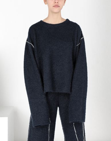 MM6 MAISON MARGIELA Top Woman Sparkling knit jersey top f