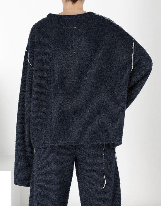 MM6 MAISON MARGIELA Sparkling knit jersey top Top [*** pickupInStoreShipping_info ***] d