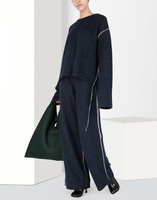 MM6 MAISON MARGIELA Sparkling knit jersey top Top [*** pickupInStoreShipping_info ***] r