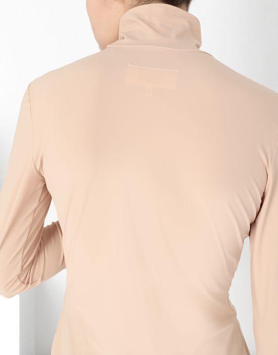 MM6 MAISON MARGIELA Logo-print turtleneck top Long sleeve t-shirt [*** pickupInStoreShipping_info ***] a