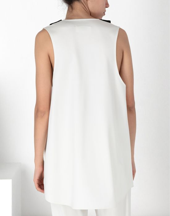 "MM6 MAISON MARGIELA ""V"" neck top with straps Top [*** pickupInStoreShipping_info ***] d"