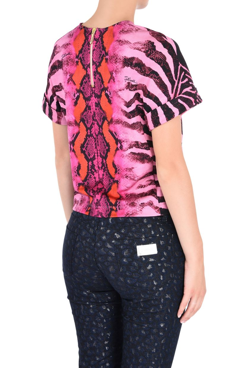 JUST CAVALLI Namibia short-sleeve top Top [*** pickupInStoreShipping_info ***] d