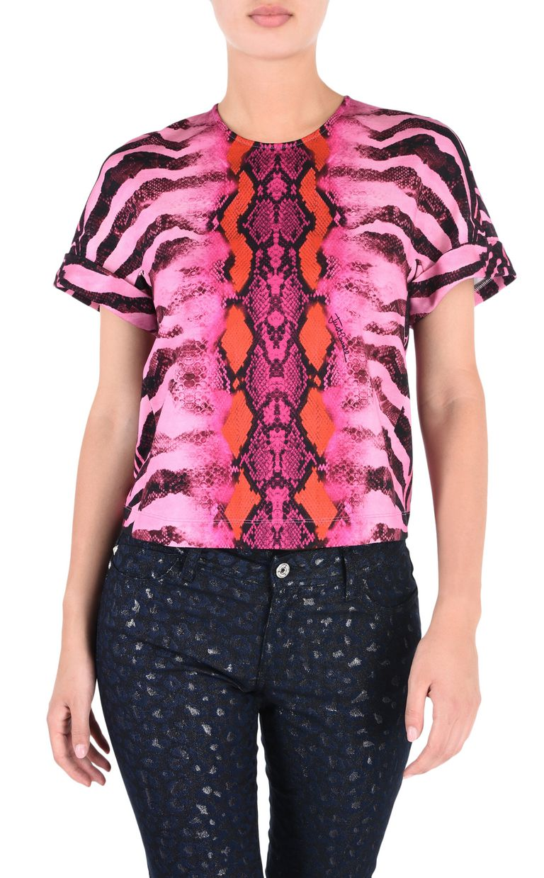 JUST CAVALLI Namibia short-sleeve top Top [*** pickupInStoreShipping_info ***] f