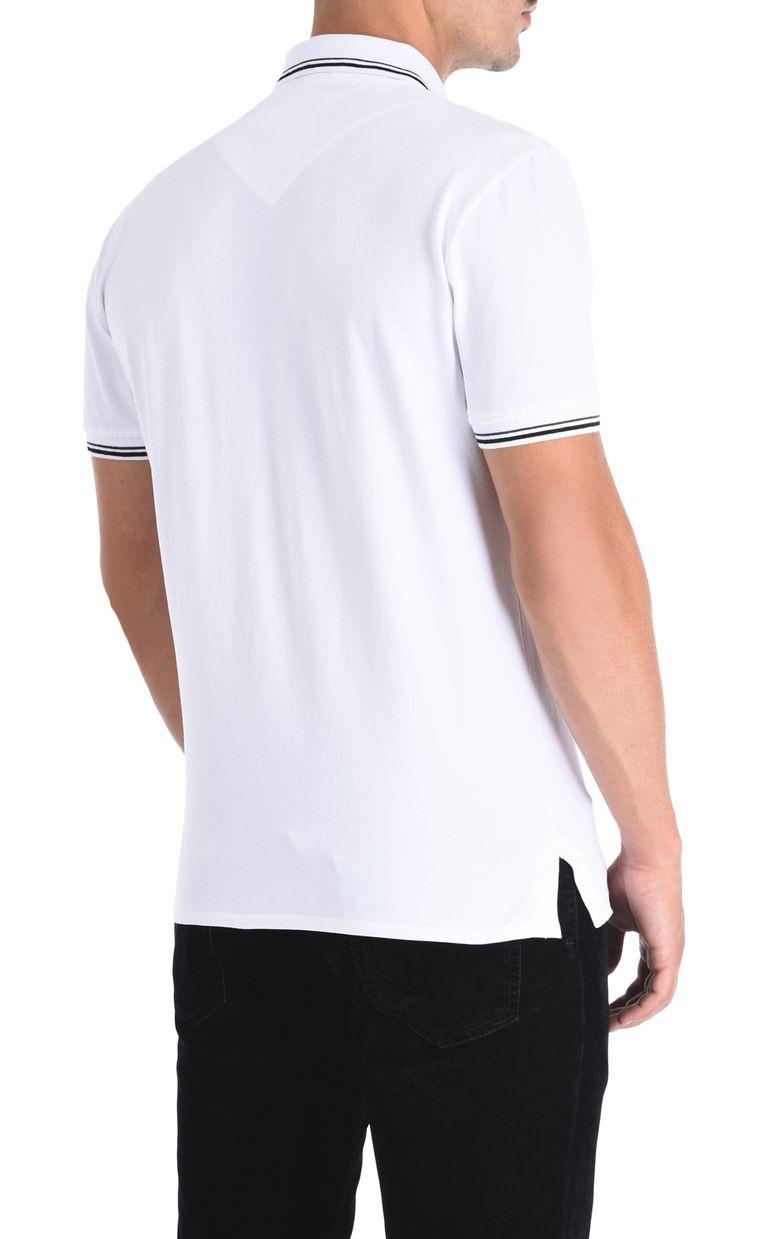 JUST CAVALLI Classic short-sleeve polo shirt Polo shirt Man d
