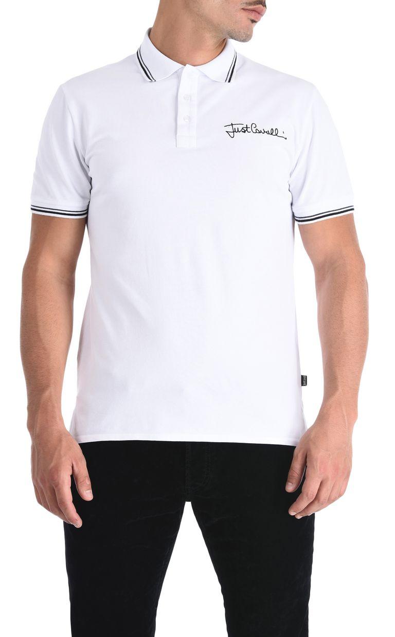 JUST CAVALLI Classic short-sleeve polo shirt Polo shirt Man f