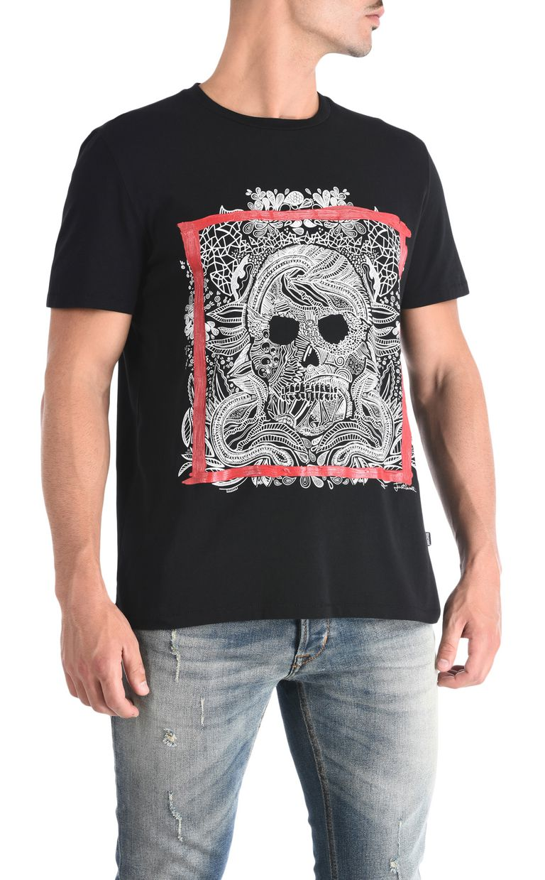 JUST CAVALLI Skull T-shirt Short sleeve t-shirt [*** pickupInStoreShippingNotGuaranteed_info ***] f