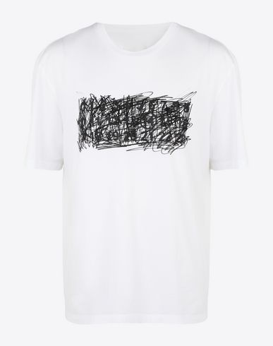 MAISON MARGIELA Short sleeve t-shirt [*** pickupInStoreShippingNotGuaranteed_info ***] Printed T-shirt f