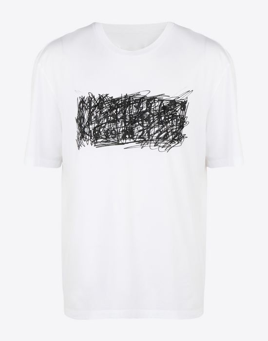 MAISON MARGIELA Printed T-shirt Short sleeve t-shirt [*** pickupInStoreShippingNotGuaranteed_info ***] f