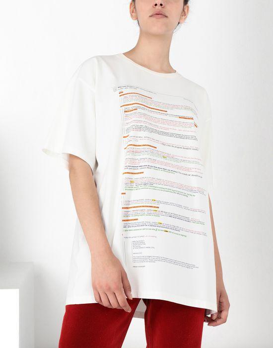 MM6 MAISON MARGIELA E-Mail Chain' print T-shirt Short sleeve t-shirt [*** pickupInStoreShipping_info ***] e