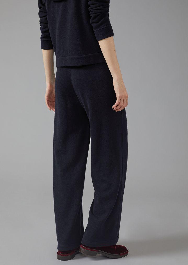 hot sales ad741 225d0 Tuta con felpa e pantaloni in puro cashmere | Donna ...