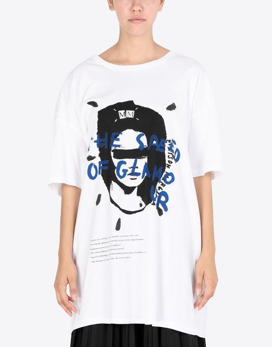 MAISON MARGIELA Printed jersey T-shirt Short sleeve t-shirt [*** pickupInStoreShipping_info ***] r