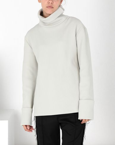 MM6 MAISON MARGIELA Top Woman Ribbed jersey top f