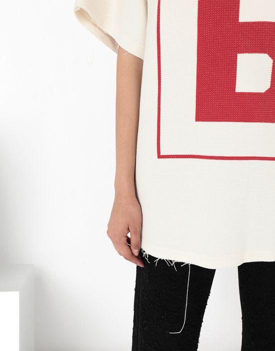 MM6 MAISON MARGIELA '6' logo print T-shirt Short sleeve t-shirt [*** pickupInStoreShipping_info ***] a