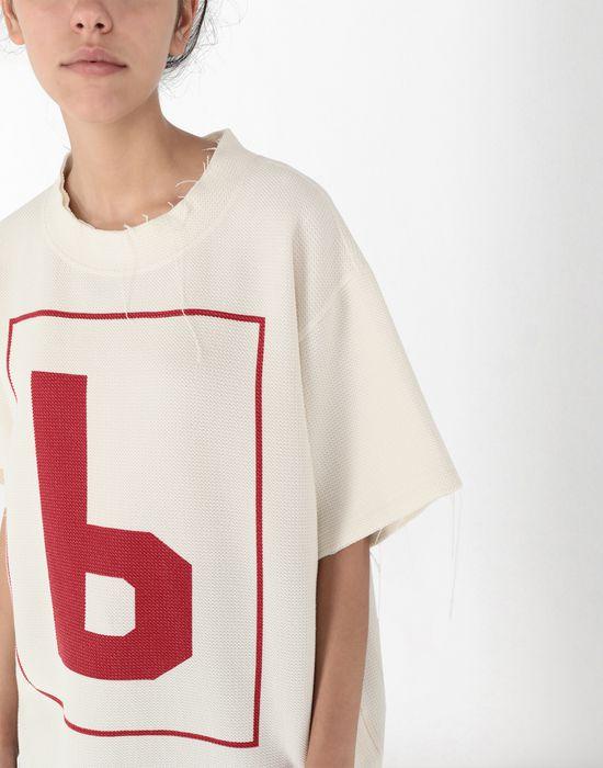MM6 MAISON MARGIELA '6' logo print T-shirt Short sleeve t-shirt [*** pickupInStoreShipping_info ***] e