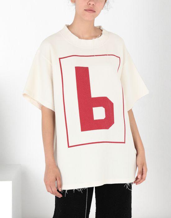 MM6 MAISON MARGIELA '6' logo print T-shirt Short sleeve t-shirt [*** pickupInStoreShipping_info ***] f