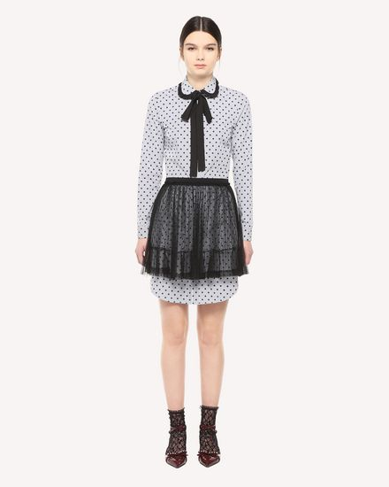 REDValentino Shirt Woman QR3AB1V53TN 0NO f