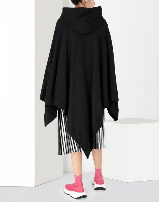 MM6 MAISON MARGIELA Asymetric hooded sweatshirt poncho Top [*** pickupInStoreShipping_info ***] d