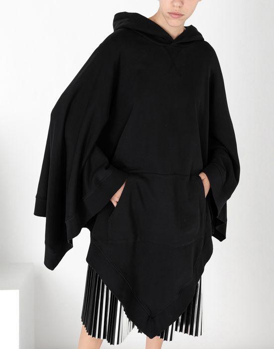 MM6 MAISON MARGIELA Asymetric hooded sweatshirt poncho Top [*** pickupInStoreShipping_info ***] e