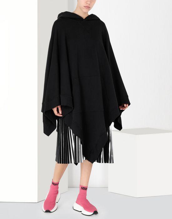 MM6 MAISON MARGIELA Asymetric hooded sweatshirt poncho Top [*** pickupInStoreShipping_info ***] f