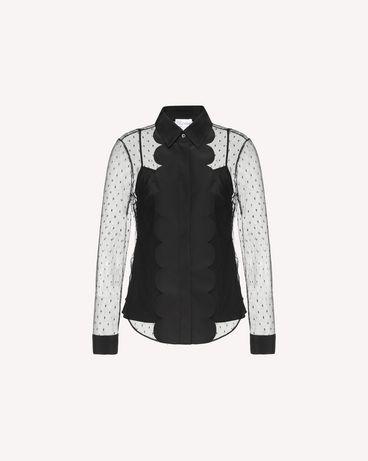 REDValentino QR3AB1P51GW 0NO Shirt Woman a
