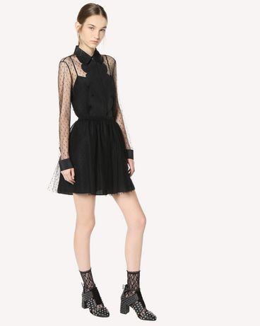 REDValentino QR3AB1P51GW 0NO Shirt Woman d
